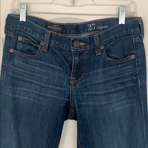 J crew matchstick (skinny) jeans
